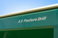 3.5m Pasture Drill Name Plate