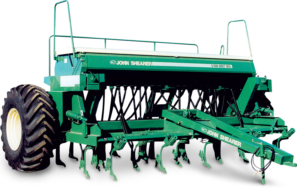 6 Row, 4 Bin Direct Drill