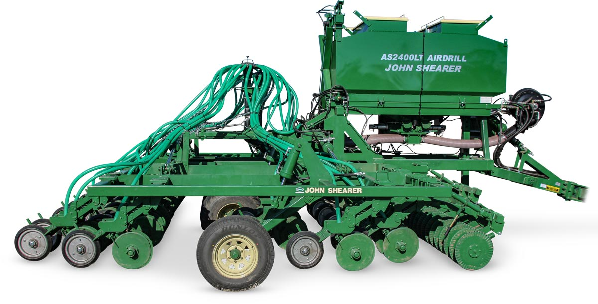 AS2400LT Airdrill - Unfolded
