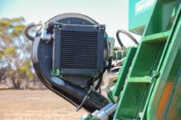 AS2400LT Airdrill - Hydraulic blower and oil cooler