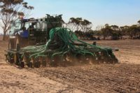 AS2400LT Airdrill - Seeding in progress