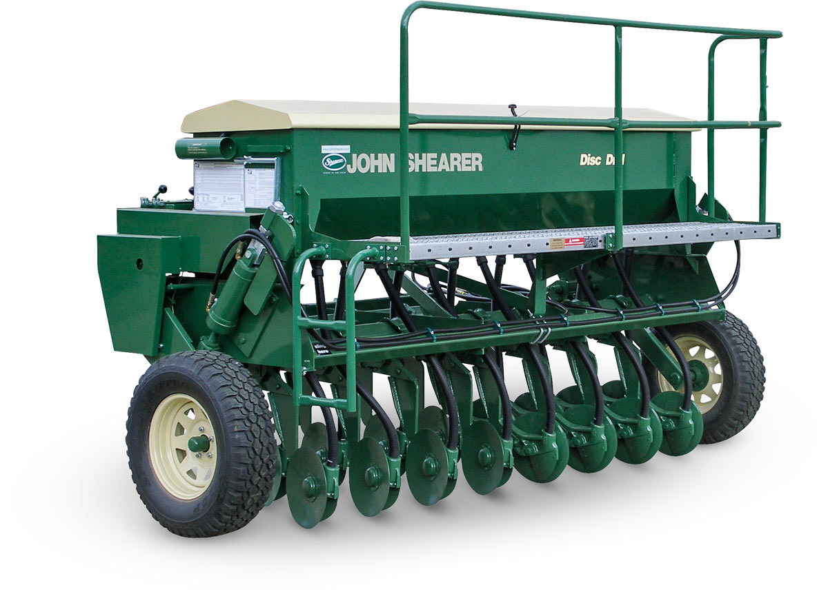 John Shearer Pasture Disc Drill