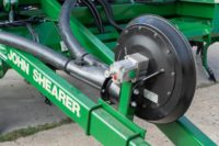 Airmatic Direct Drill hydraulic blower with speed adjustment knob