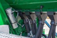 Airmatic Direct Drill electric drive and dual shoot seed hoses